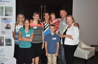 Daudrich family of Lazy Bear Lodge