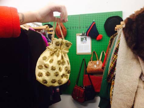 2. Nettie + Min vintage beaded pouch: $45 Flash Boutique (438 Graham Ave.)