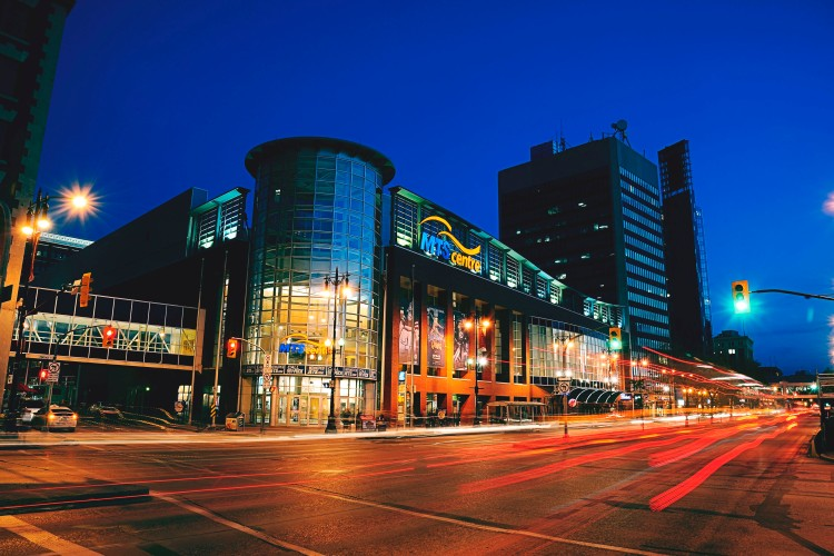 MTS Centre, home  of the Winnipeg Jets, just celebrated its  10th anniversary.