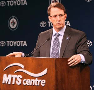 Mark Chipman lifted the hearts of Winnipeggers with news of the NHL returning to the city.