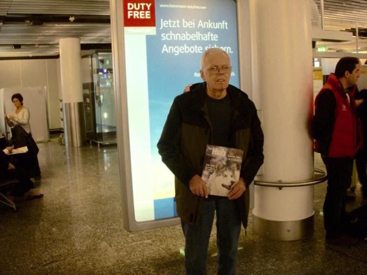 Glenn in Frankfurt