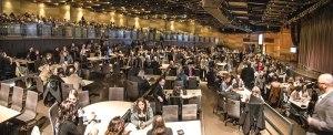 Club Regent Event Centre in cabaret setup. Photo by Dave Pletz