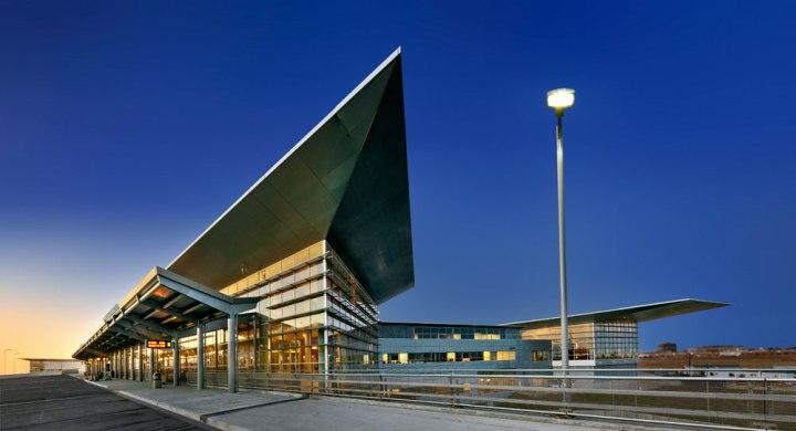 Winnipeg Airport. Photo by Gerry Kopelow