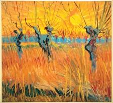 "Vincent van Gogh ""Pollard Willows at Sunset."" Photo by Art Resource, NY."