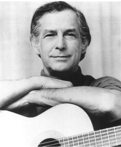 Oscar Brand was an accomplished folk singer. (Photo by George Pickow.)
