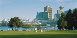 Stanley Park in Vancouver is a great place to relax on the weekend. (Photo courtesy of Tourism BC.)