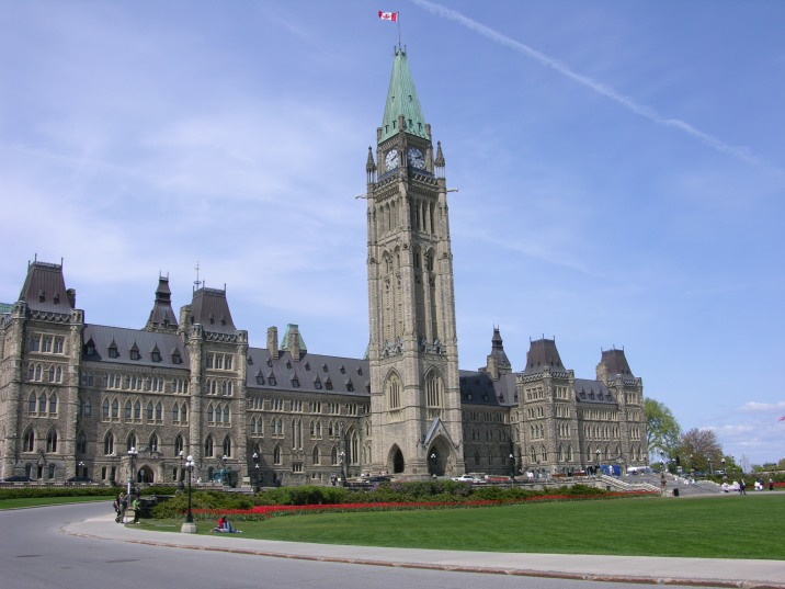 Centre Block before the renovations