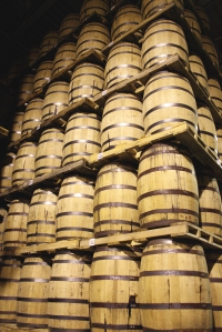 The whisky produced at the Manitoba distillery is stored in two million barrels, located in 46 warehouses on over five acres of land.