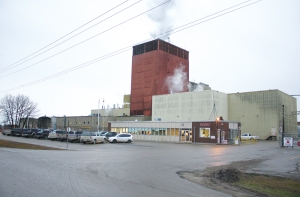 The Gimli distillery where Crown Royal is made.
