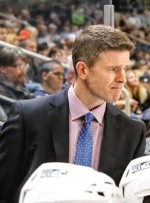Keith McCambridge, Manitoba Moose head coach.