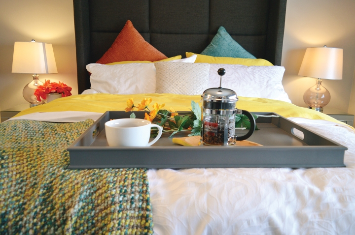 Why not try a bed & breakfast and enjoy the comforts of home.