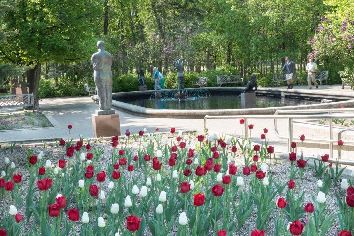 The Leo Mol Sculpture Garden.