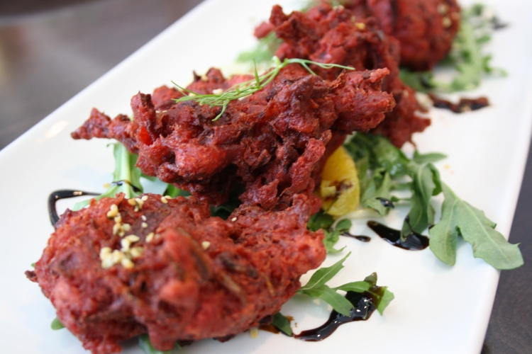 Beef Fritters are a lovely indulgence.