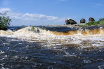 Berens River whitewater.