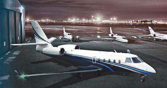 A photo of the Fast Air fleet.