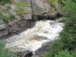 The ruggedness of the Canadian Shield gives a picturesque backdrop to these whitewater rivers.