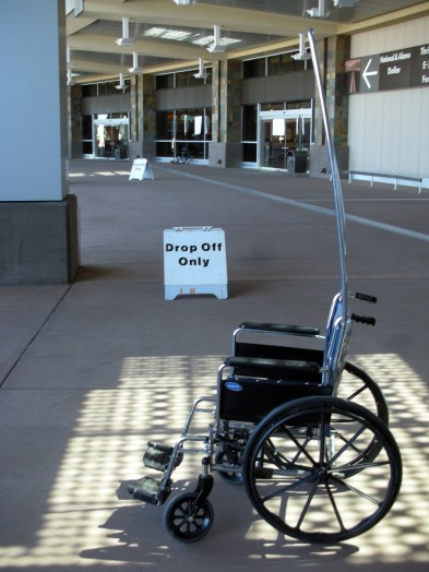 Wheelchair assistance is available for those with mobility issues.