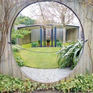 A model garden at a Royal Horticultural Society Garden at Wisley.