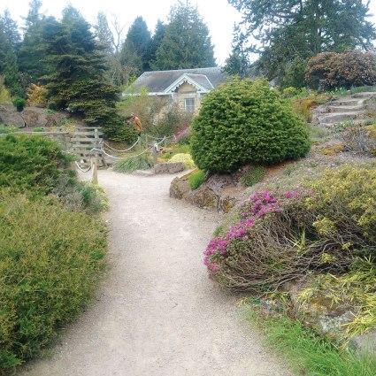 Edinburgh Botanical Garden.