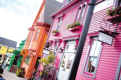 Walking the streets of Lunenburg is a trip back in time.