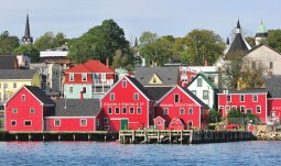 The Old Town of Lunenburg is a UNESCO world heritage site.