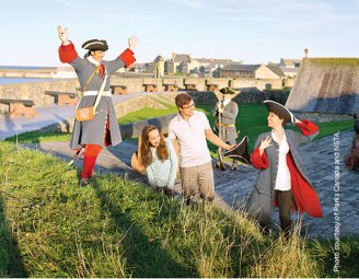 The Fortress of Louisbourg was founded in 1713.