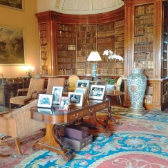 Part of a drawing room at Harewood House.