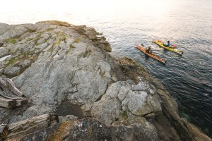 Kayaking and watersports are a big attraction.