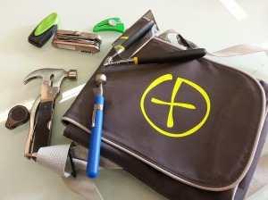 Tools you may need along with your GPS for geocaching.