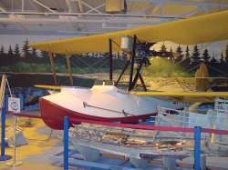 A Vickers Vedette replica.