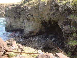 Petroglyphs and cave paintings have been found in many of the island's caves.