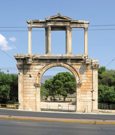 Arch of Hadrian.