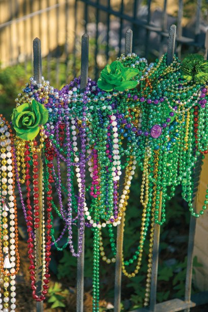 The largest of about one dozen Mardi Gras supply houses in New Orleans sells an estimated one billion pairs of beads for a Mardi Gras season.