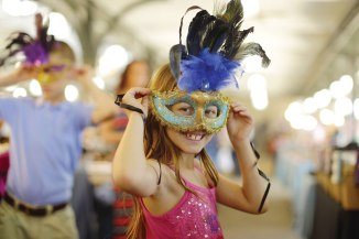 There's no need to hesitate – Mardi Gras is a fine family event.